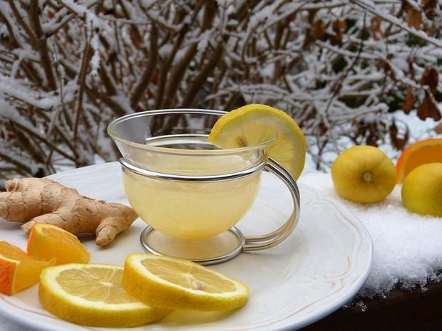 jengibre y limon